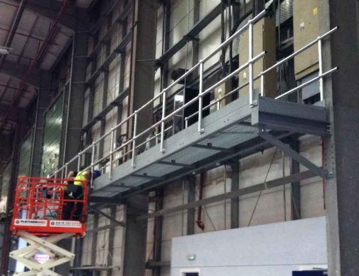 CE Marking EN1090 Fabrication Walkway for Asda